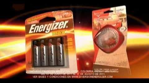 Energizer Cars 2 (promo)