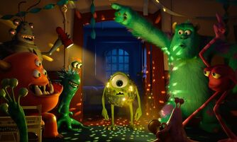 New Monsters University trailer Mike and Sulley party Swedish House Mafia style