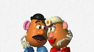 Toy Story 2 - 3D Turnarounds Mr. and Mrs. Potato Head