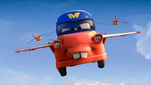 Mater hawk show cars toon