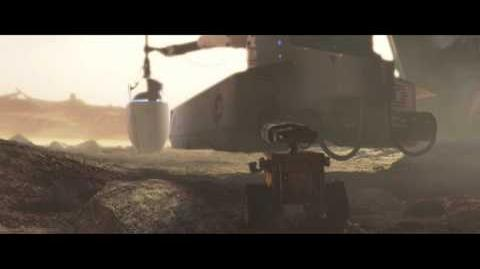 WALL-E - EVE's arrival on Earth scene