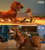 Toy-story-1999-2010-pixar-past-old-young-buster-woody