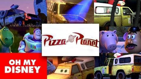 Pixar Pizza Planet Truck Hidden Secrets