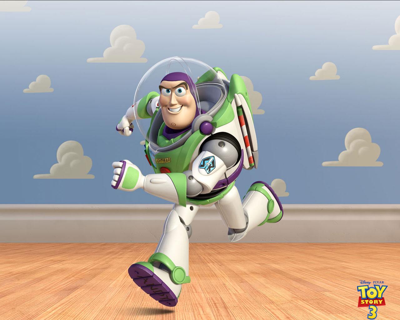Buzz Lightyear Running Design Inspirations