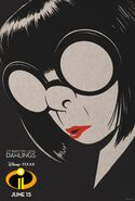 Edna Mode Incredibles 2 Poster