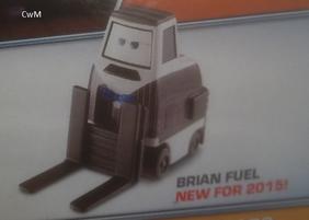 Brian Fuel Die-Cast Back 2015