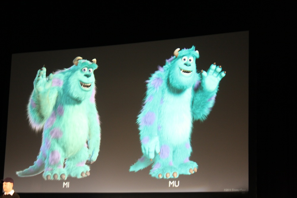 James p sullivan pixar wiki fandom powered by wikia d23 2011 monsters university art 15 voltagebd Image collections