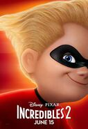 Incredibles 2 Original Character Posters 07