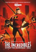 Movie poster the incredibles
