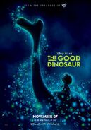 The Good Dinosaur UK Poster