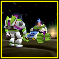 Buzz Lightyear Buggy boss (Toy Story 2)
