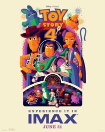 Toy Story 4 IMAX Poster