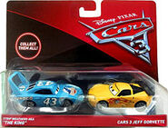 The king cars 3 pack de 2