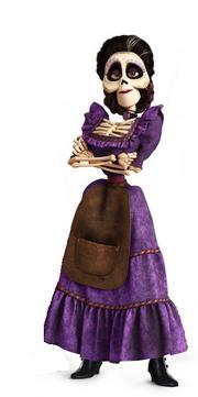 Imelda, Coco, Pixar