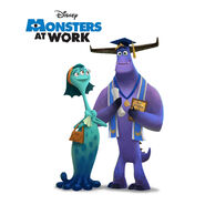 Monsters at Work Graduate Poster