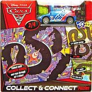 Raoul caroule with silver sticker cars 2 playset