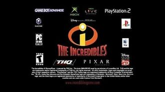 The Incredibles (2004) video game promo (2005 DVD ver.) (60fps)