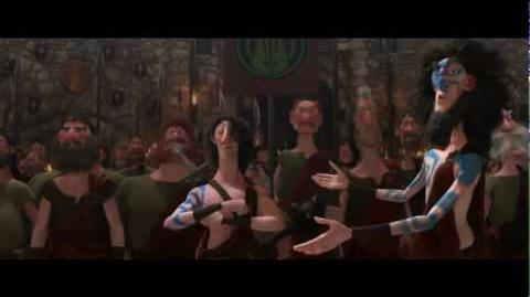 "Brave - Extended Clip 4 ""The Suitors"" HD"