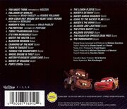 Cars 2 back cover