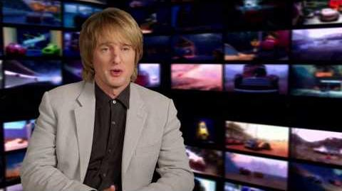 "Cars 3 ""Lightning McQueen"" Owen Wilson Interview"