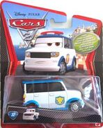 Tokyo airport security guard cars 2 single