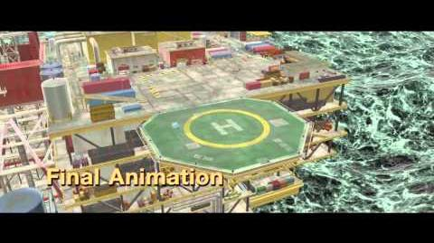 Cars 2 Opening Sequence Animation Progression