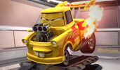 Mater super hotwheels tuned