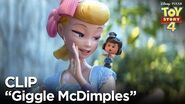 """Giggle McDimples"" Clip - Toy Story 4"