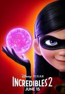 Incredibles 2 Original Character Posters 06