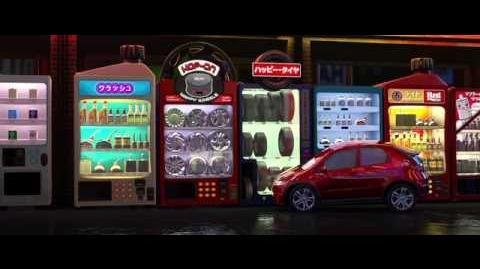 CARS 2 - Tokyo Arrive Montage