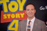Tony Hale Toy Story 4 premiere