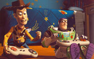 Woody and Buzz 4