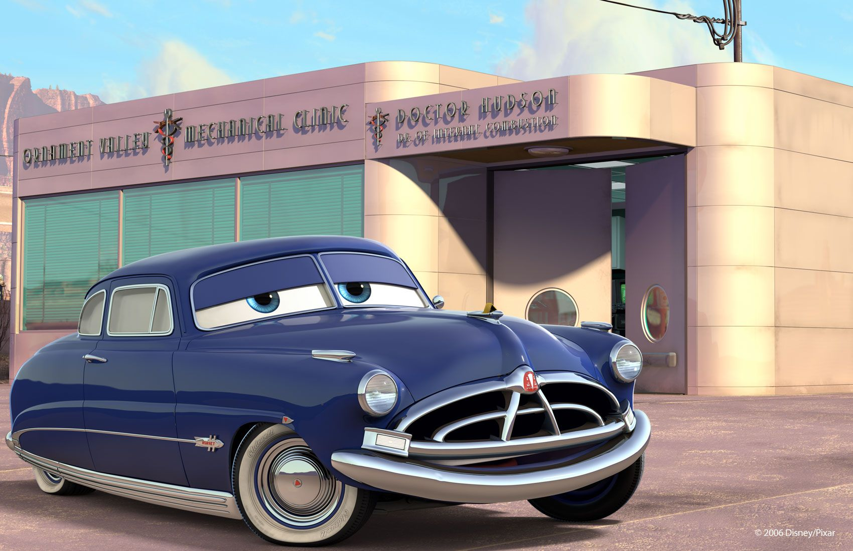 What Happened To Doc Hudson Hornet In Cars