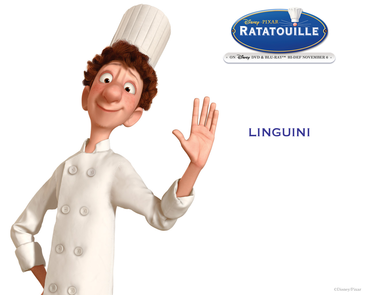 Image result for linguini ratatouille