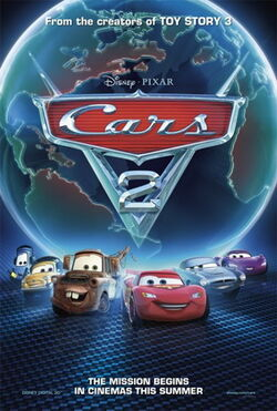 Cars 2 Poster 2