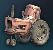 Cars-tractor