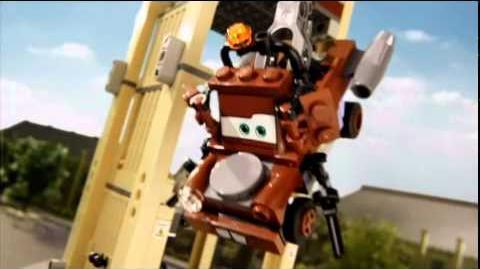 LEGO Disney CARS 2 - Spy Fight
