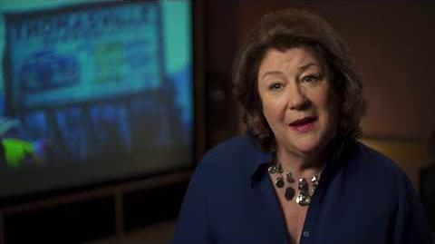 "Cars 3 ""Louise Nash"" Margo Martindale Interview"