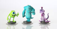 Disney Infinity Monsters University Figures