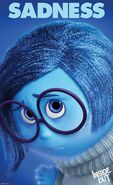 Inside Out Character Poster Sadness