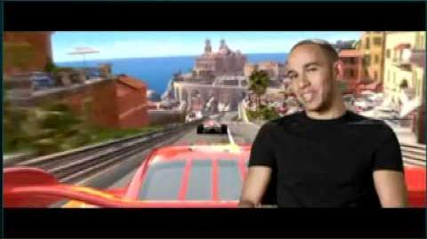 Cars 2 tv Spot with Lewis Hamilton