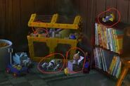 Finding Nemo Toy Story References