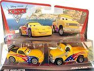 John lassetire jeff gorvette crew chief cars 2 movie moments