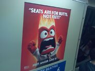 BART train Anger ad