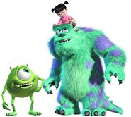 Mike Sully and Boo