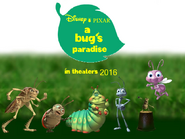 A Bug's Paradise Poster