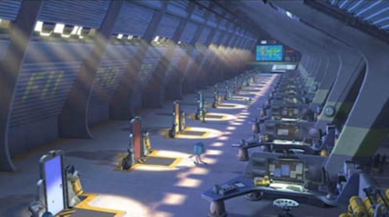 Scare Floor F Pixar Wiki Fandom Powered By Wikia