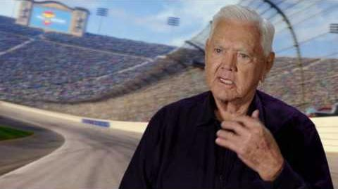 "Cars 3 ""Junior Moon"" Junior Johnson Interview"