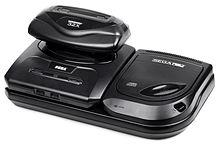 Вторая модель Genesis со встроенными дополнениями Sega CD и Sega 32X