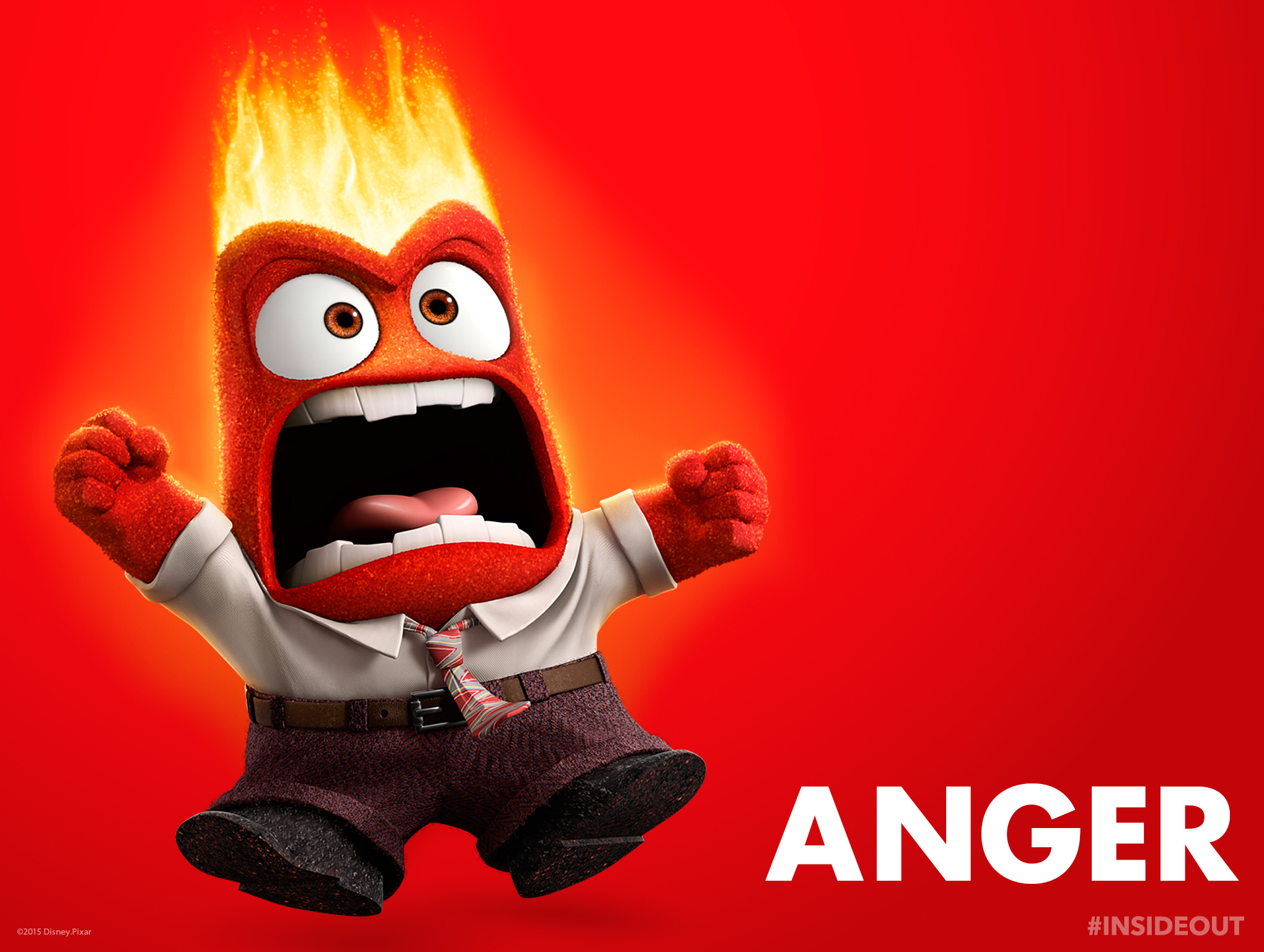 Pictures of inside out from anger